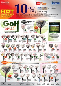 Isetan Golf Sale Page 1