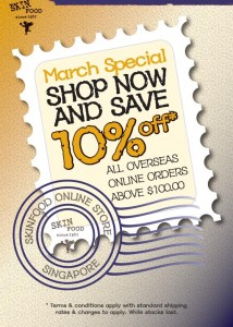 The Skin Food March Promotion