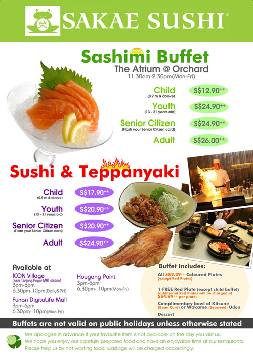 sakae sushi target market Foodpanda - food delivery at  of the attractive deals and enjoy freshly prepared sushi from some of the finest japanese restaurants in malaysia like sakae sushi,.