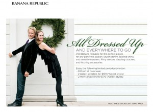Banana Republic November 2009 Promotion