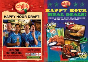 Chili's Happy Hour Promotion