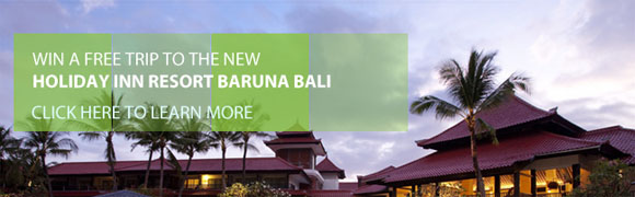 Holiday Inn Bali Resort 5 Night Stay Contest