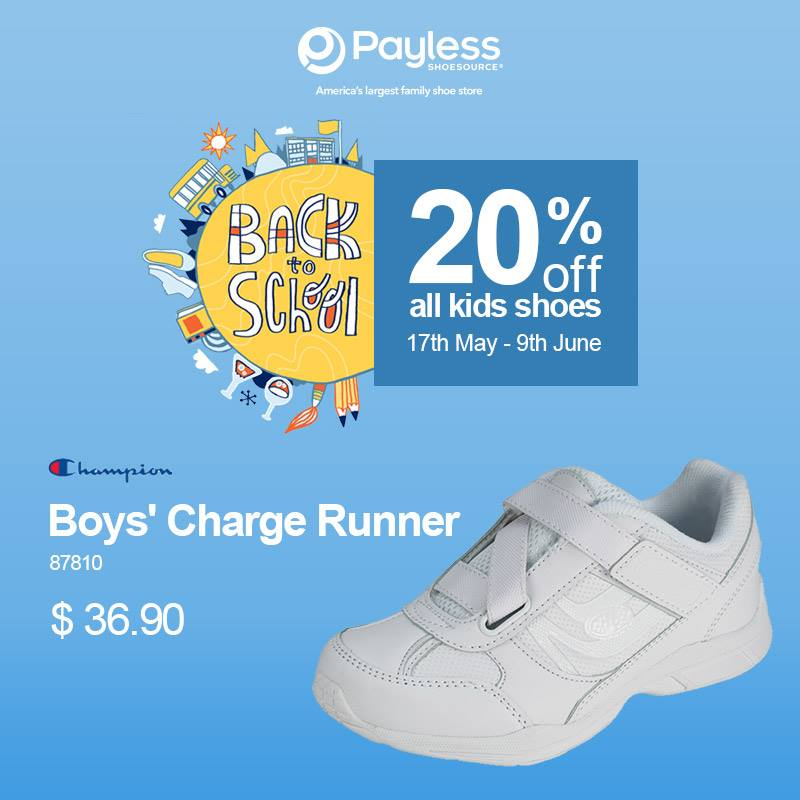 Payless Shoes Back to School Sale