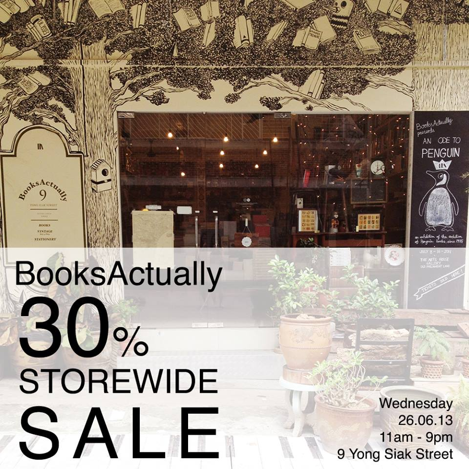 BooksActually 30% Storewide Sale