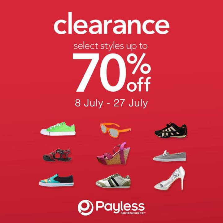 Payless Shoes Clearance Sale
