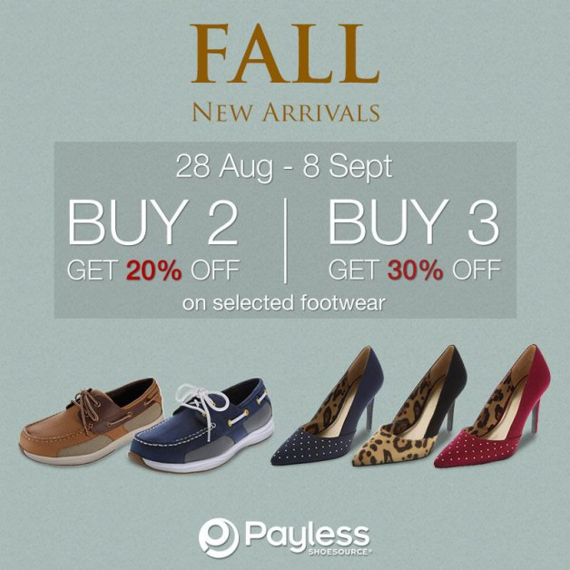 Payless New Shoes Promotion