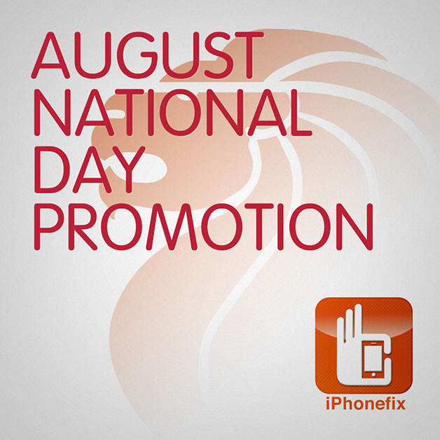 iPhonefix National Day 2013 Promotion