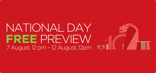Starhub Free Preview 2013 National Day
