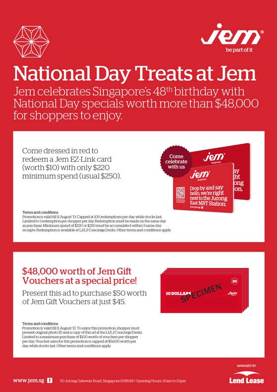 JEM National Day Treats Promo