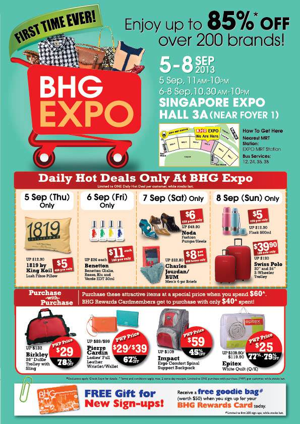 BHG Expo Sale 2013