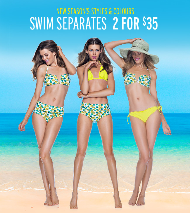 Buy the latest Womens Swimwear Online from SurfStitch. New Womens Bikini Bottoms, Bikini Tops, One Pieces more. Shipping available Australia wide including Sydney, Melbourne, Brisbane, Adelaide, Perth, Hobart & Darwin.