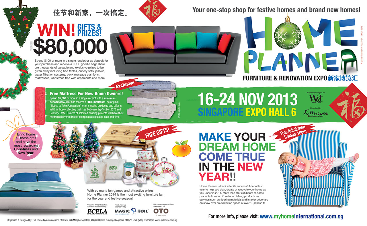 Home Planner Furniture Renovation Expo 2013 Singapore Expo