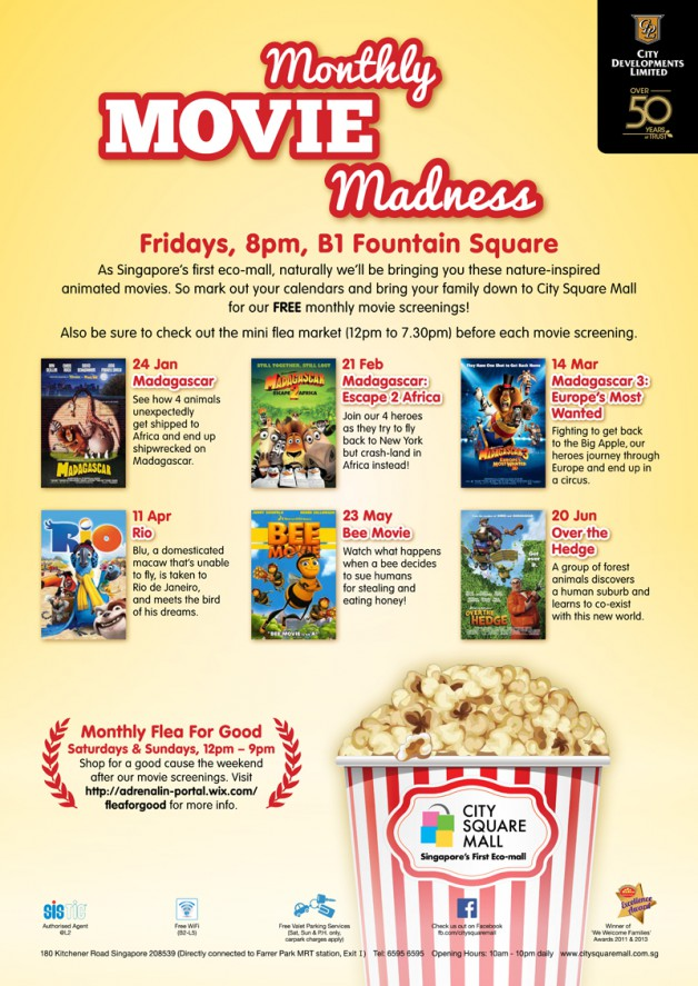 City Square Mall_Monthly Movie Madness