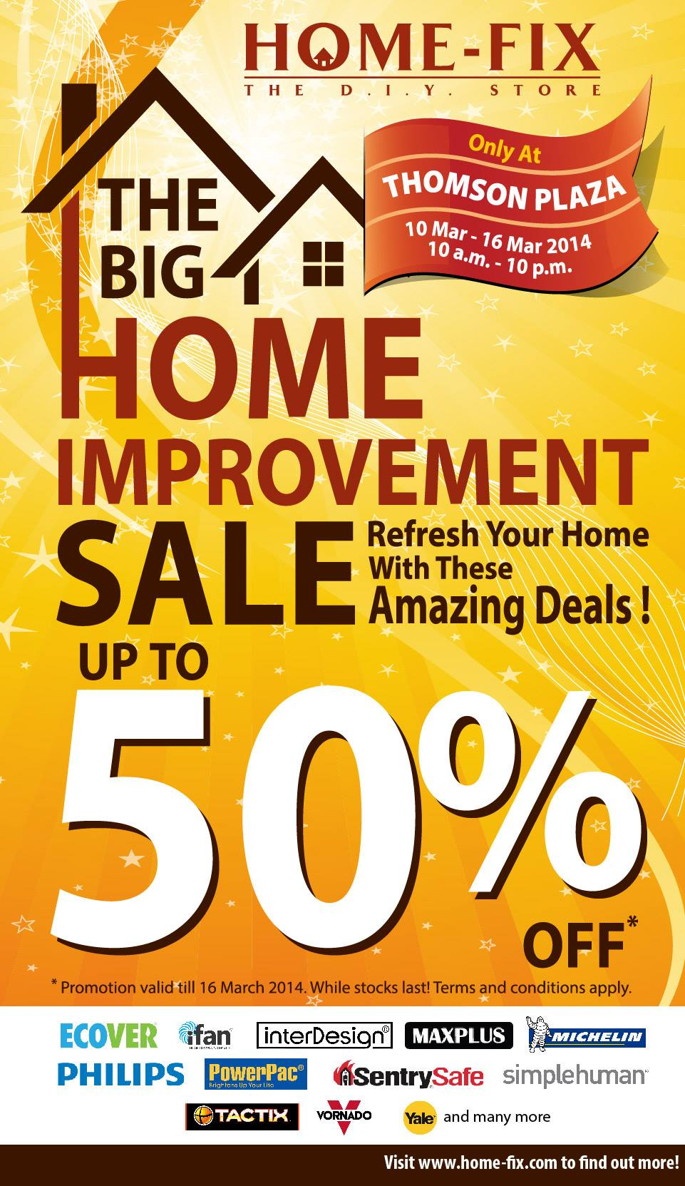 home improvement great deals stoppages