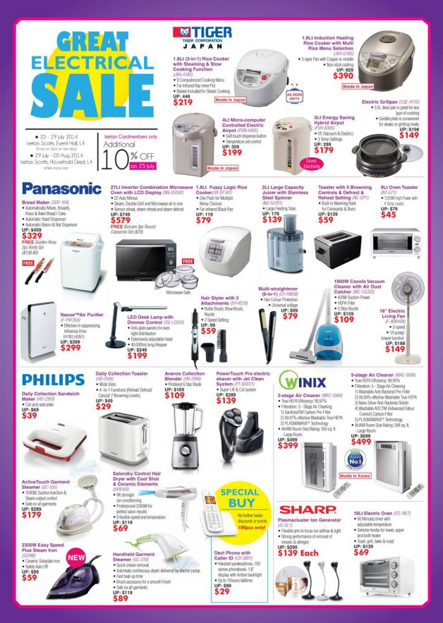 isetan-great-electrical-sale-july-2014
