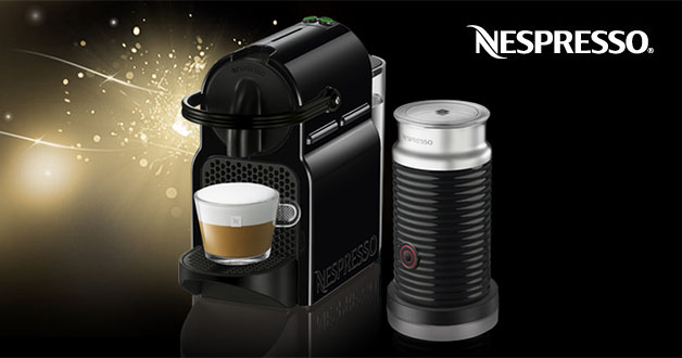 receive 120 discount off nespresso inissia aeroccino3 milk frother bundle festive promotion. Black Bedroom Furniture Sets. Home Design Ideas