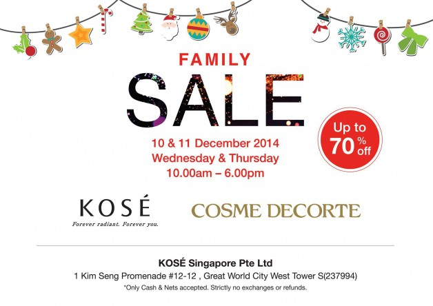 kose-family-sale-christmas-dec-2014