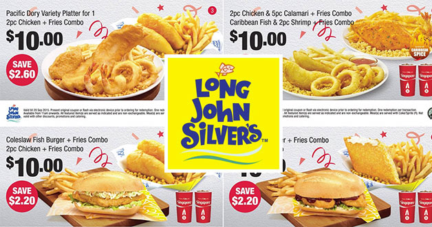 photograph relating to Long John Silver's Printable Coupons identify Very long john silver on-line coupon codes - Within shop joann coupon codes