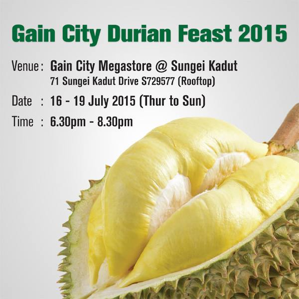 gain-city-sungei-kadut-durian-feast-2015