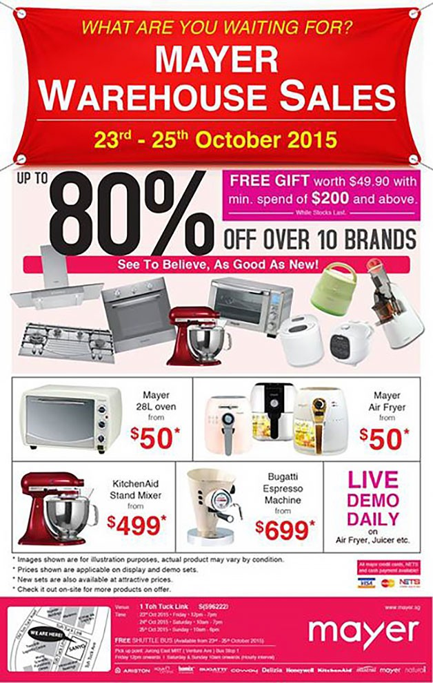nice Kitchen Appliances Warehouse Sale #4: Fiamma Group Warehouse Sale For Kitchen Appliances My