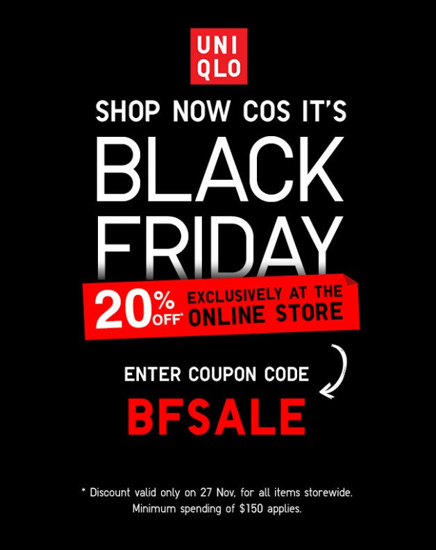 Sep 21,  · UNIQLO Black Friday deals are not to be missed. With so much on offer in its women's, kids' and men's clothing departments, you're guaranteed to get great discounts. Use available Black Friday coupons to bring prices down even further.