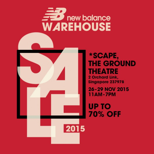 new balance sale at scape