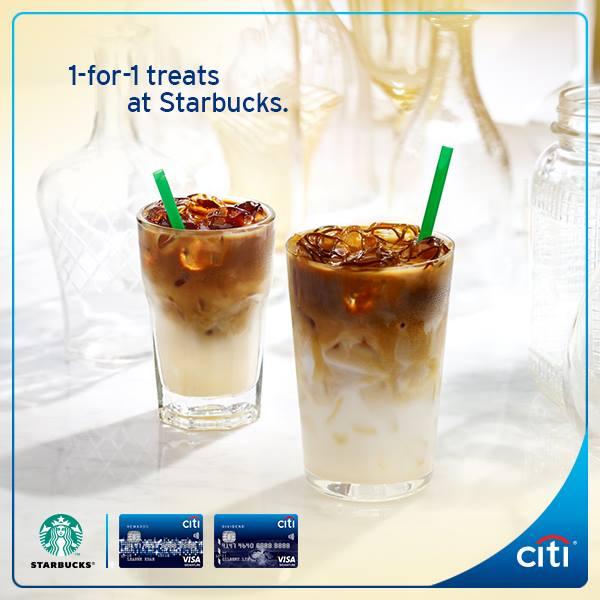 starbucks-citibank-1-for-1-promo