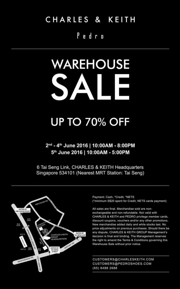 charles-keith-pedro-warehouse-sale-june-2016
