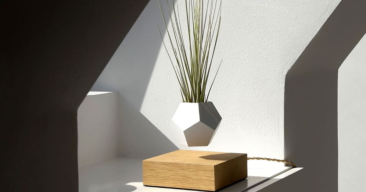 Lyfe lets you grow your favourite plants in mid air for Levitating plant