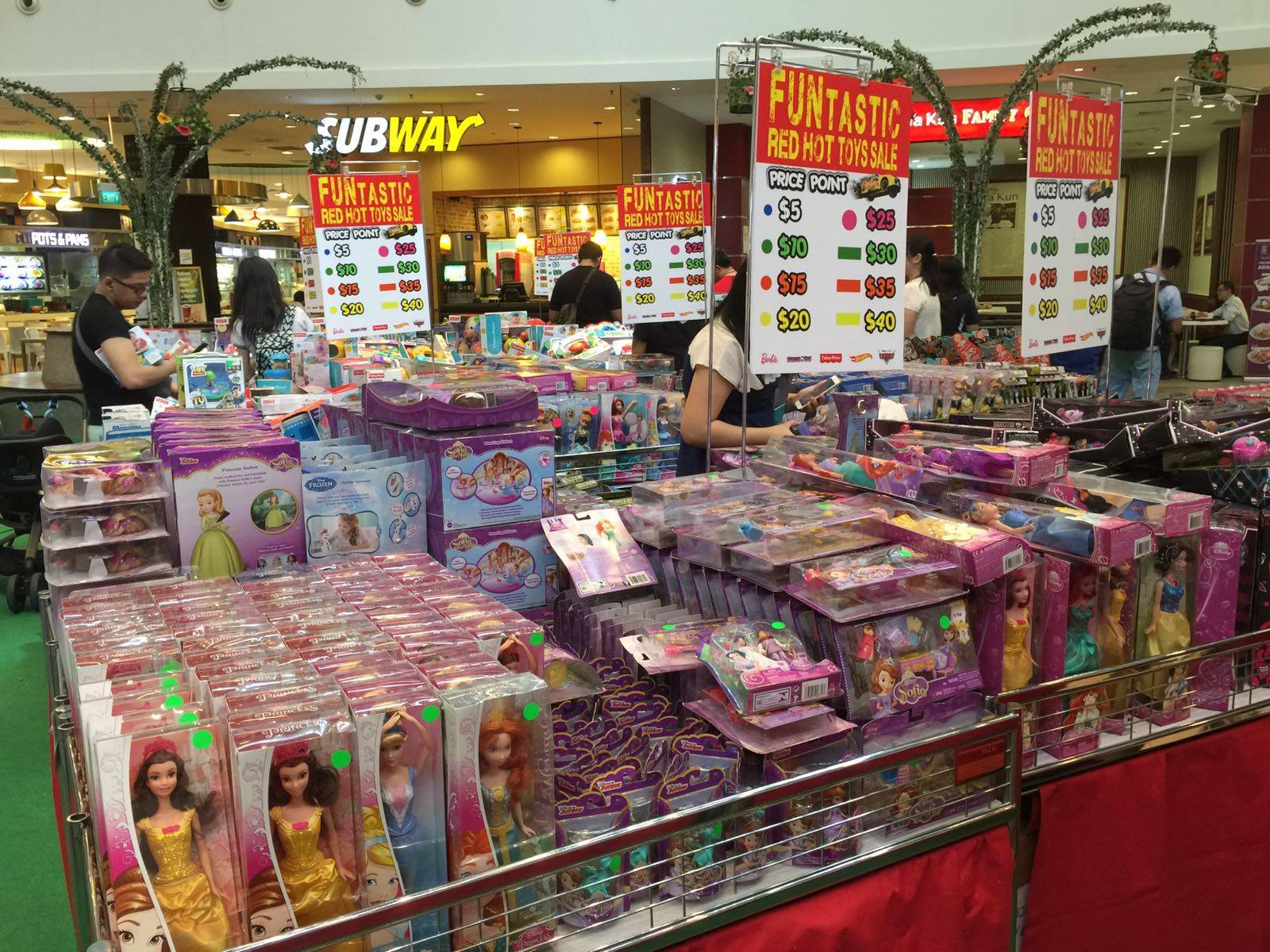 FUNtastic Toys Sale Changi City Point lets you save up to 90% on