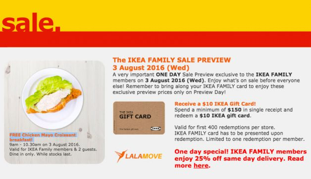 Ikea family sale preview is here again enjoy exclusive for Does ikea deliver same day