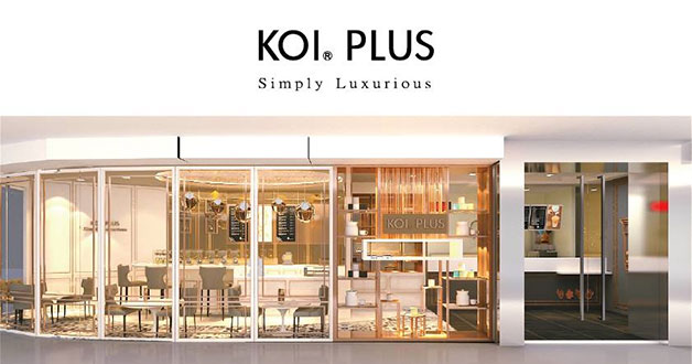 This koi outlet just got transformed into a cafe say hi for Koi warehouse sale