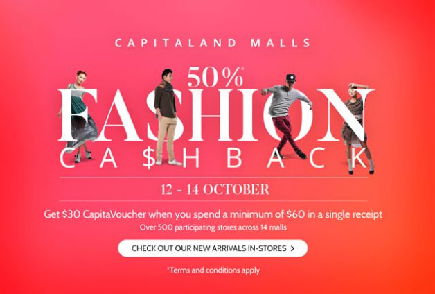 capitaland-malls-50-percent-cashback-fashion-promotion-october-2016