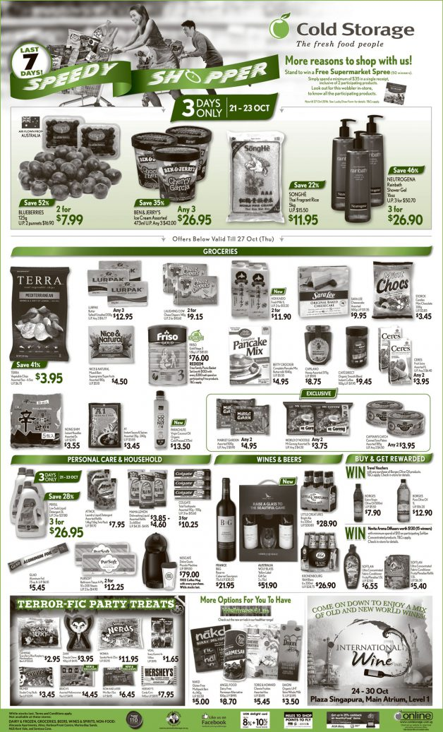 cold-storage-weekend-speedy-shopper-offer-oct-2016