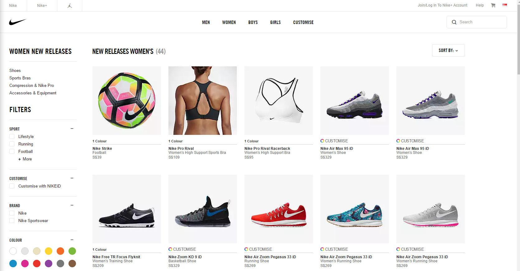 Nike outlet store online shopping