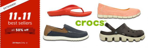 crocs-11-11-bestsellers-shoes-sale-extended-november-2016