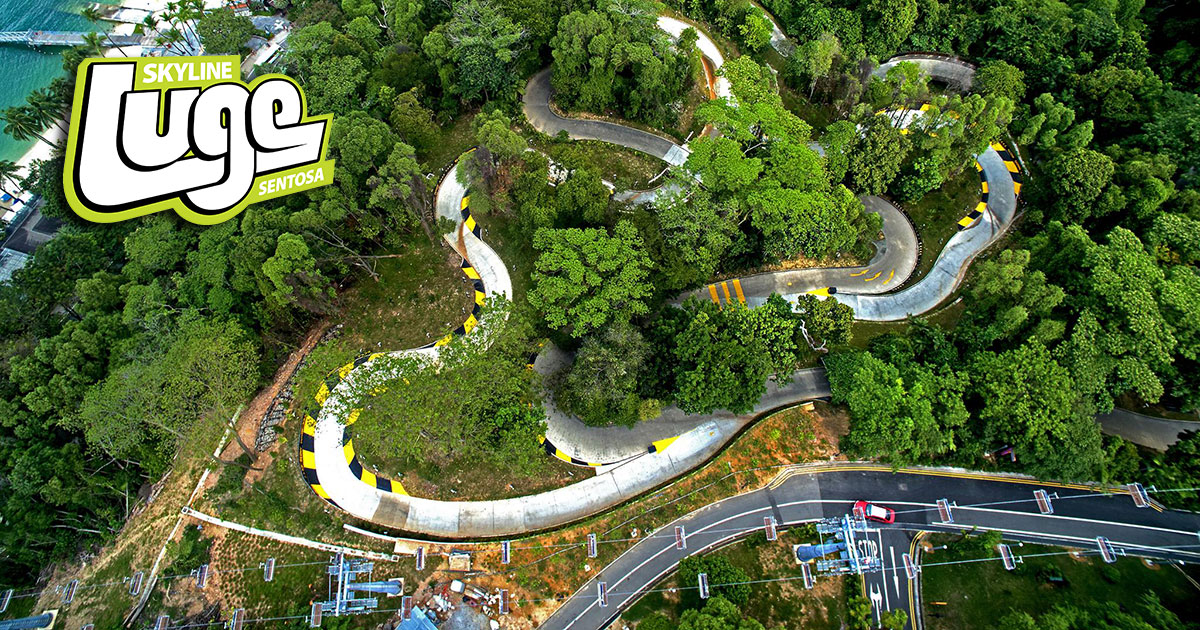 skyline luge sentosa adds two new tracks and a ski lift style skyride to cope with demand. Black Bedroom Furniture Sets. Home Design Ideas