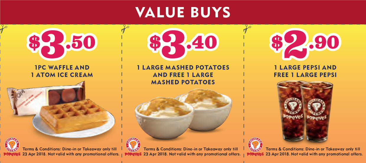 photo about Popeyes Coupon Printable known as Popeyes weekly bargains - On the net Promotions