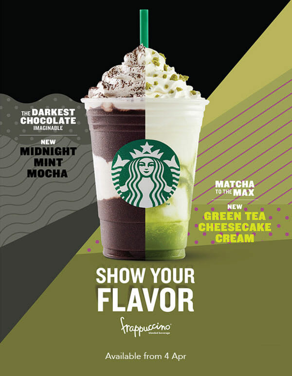 Starbucks New Drinks Are Here Midnight Mint Mocha Green