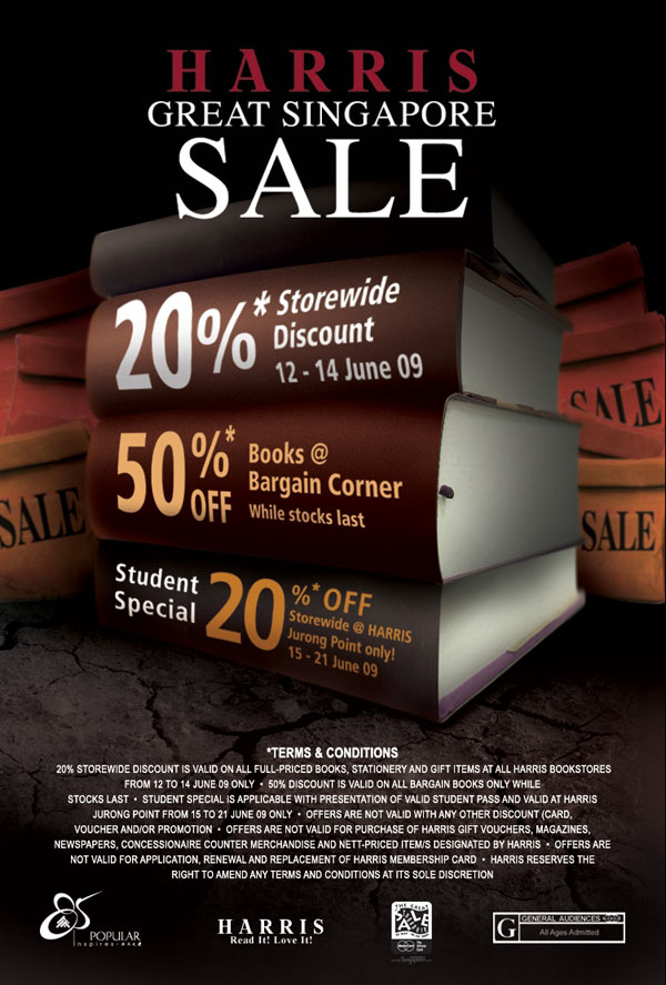 Harris Bookstore GSS Sale