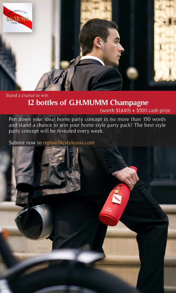 Lifestyle Asia's G.H.MUMM Champagne Contest | Nov 2009