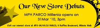 MPH @ Parco Marina Bay Opening Special and Expo Sale