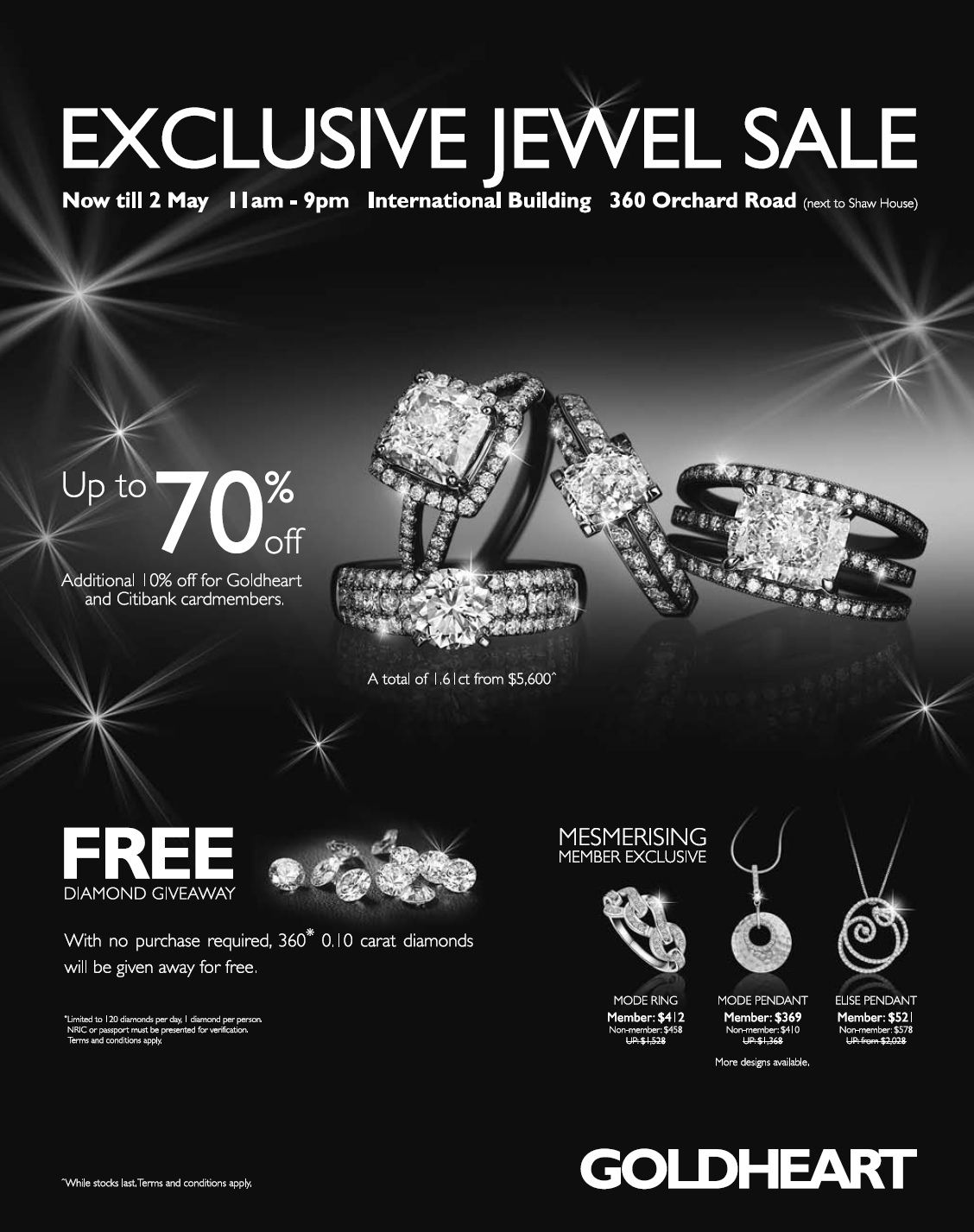 GoldHeart Exclusive Jewelry Sale
