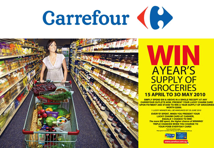 Win a Year's Supply of Groceries!