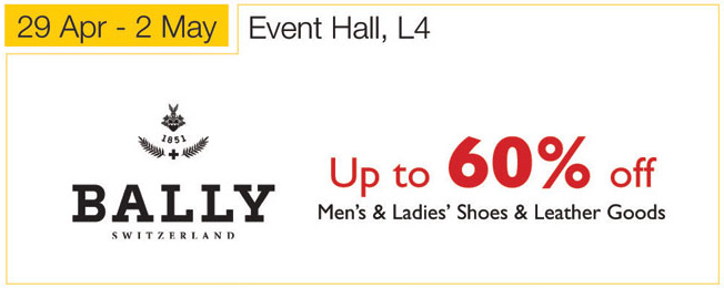 Isetan Bally Footwear Promotion