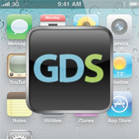 Creating A Shortcut Icon To GDS On iPhone