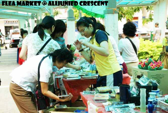 Flea Market at Aljunied Crescent
