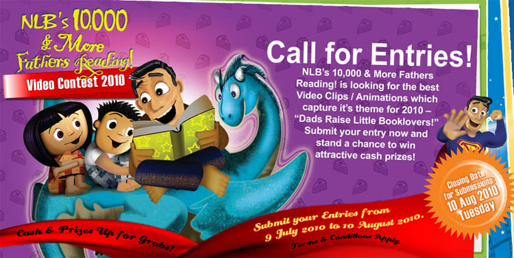 NLB's 10,000 & More Fathers Reading Video Contest 2010