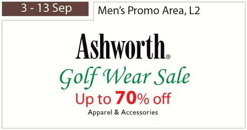 Ashworth Golfwear Sale