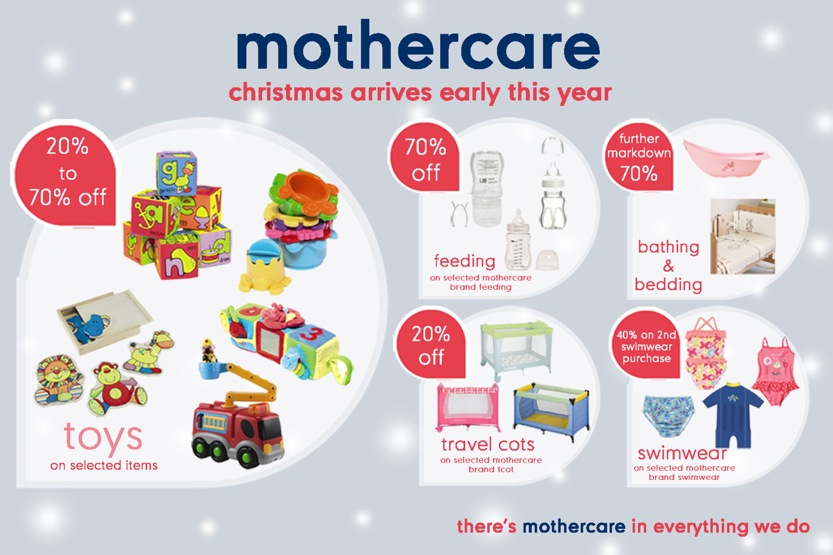 Mothercare Christmas Deals